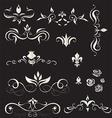A set of vintage design elements - vector image