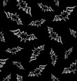 helloween bats pattern vector image