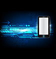 abstract background phone digital technology for vector image