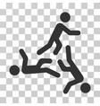 moving men icon vector image