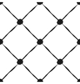 Grunge seamless pattern of black diagonal stripes vector image vector image