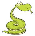 Viper cartoon vector image