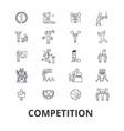 competition winnter award success champion vector image