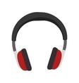 audio portable headphone vector image