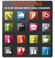 celebration icon set vector image vector image