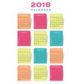 Calendar N21 Design vector image