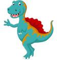 dinosaur spinosaurus vector image
