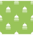 Capitol Icon Seamless Pattern vector image