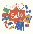 Garage sale vector image