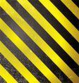warning grunge stripe vector image