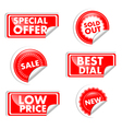 Tags For Sale vector image