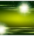 Dark green background with light effect vector image vector image