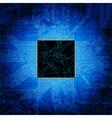 Motherboard background vector image