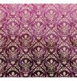 Violet royal set vector image vector image