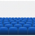 Seat on transparent background vector image vector image