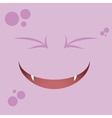 Cartoon Expression face vector image