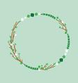 March Wreath vector image