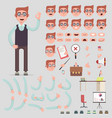 symbol of a man for creating scenes vector image