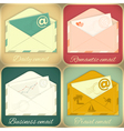 Set of Email Concept vector image