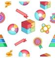 Analysis pattern cartoon style vector image
