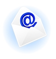 Envelope and email symbol vector image