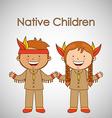 children of the worlddesign vector image