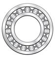 Ball bearing vector image
