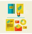 company branding vector image