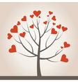 Love tree3 vector image