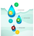 Option banner modern infographic vector image vector image
