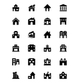 Building Icons 2 vector image