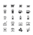 Coffee and Drink Icons vector image
