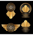 Art Deco Awards vector image