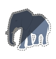 elephant african animal vector image