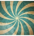 Retro vintage grunge hypnotic background vector image vector image