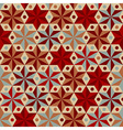 Anise stars seamless pattern vector image