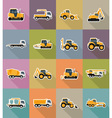transport flat icons 38 vector image