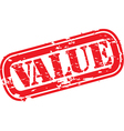 Value stamp vector image
