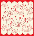 flower graphic vector image
