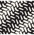 Seamless Black And White Chevron Halftone vector image