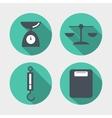 Balance icons vector image