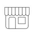 building store market exterior shopping concept vector image