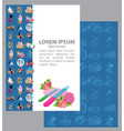 ertificate beauty beauty shop wellness vector image