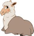 Lamb cartoon vector image