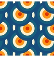 Retro different seamless patterns tiling vector image