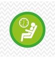 subway button icon design vector image