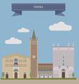 Parma vector image vector image