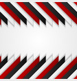abstract red black corporate tech background vector image