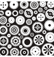 Background of gears4 vector image