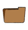 Folder icon image vector image